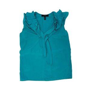 Teal dress top